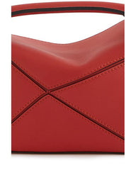 LOEWE Mini Puzzle 322.30.u95 Scarlet Red Bag