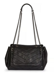 Saint Laurent Nolita Small Monogram YSL Shoulder Bag