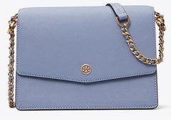 Tory Burch 62020 Robinson Floral Interior Convertible Bluewood Shoulder Bag