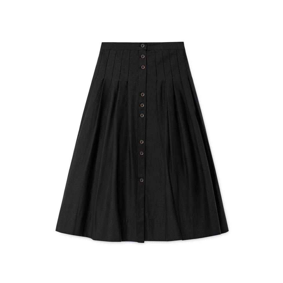 horizon skirt in black