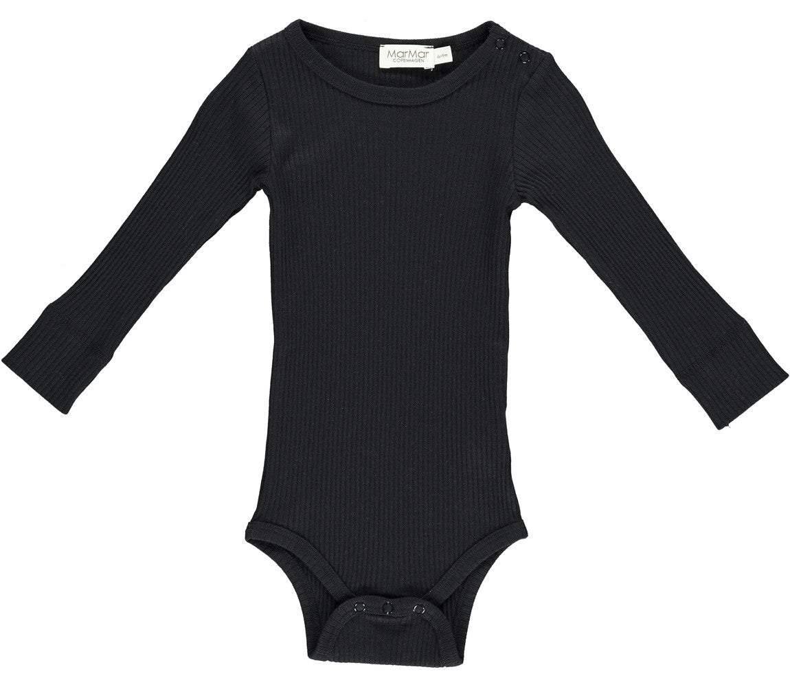 PLAIN LS BODY MODAL BLACK
