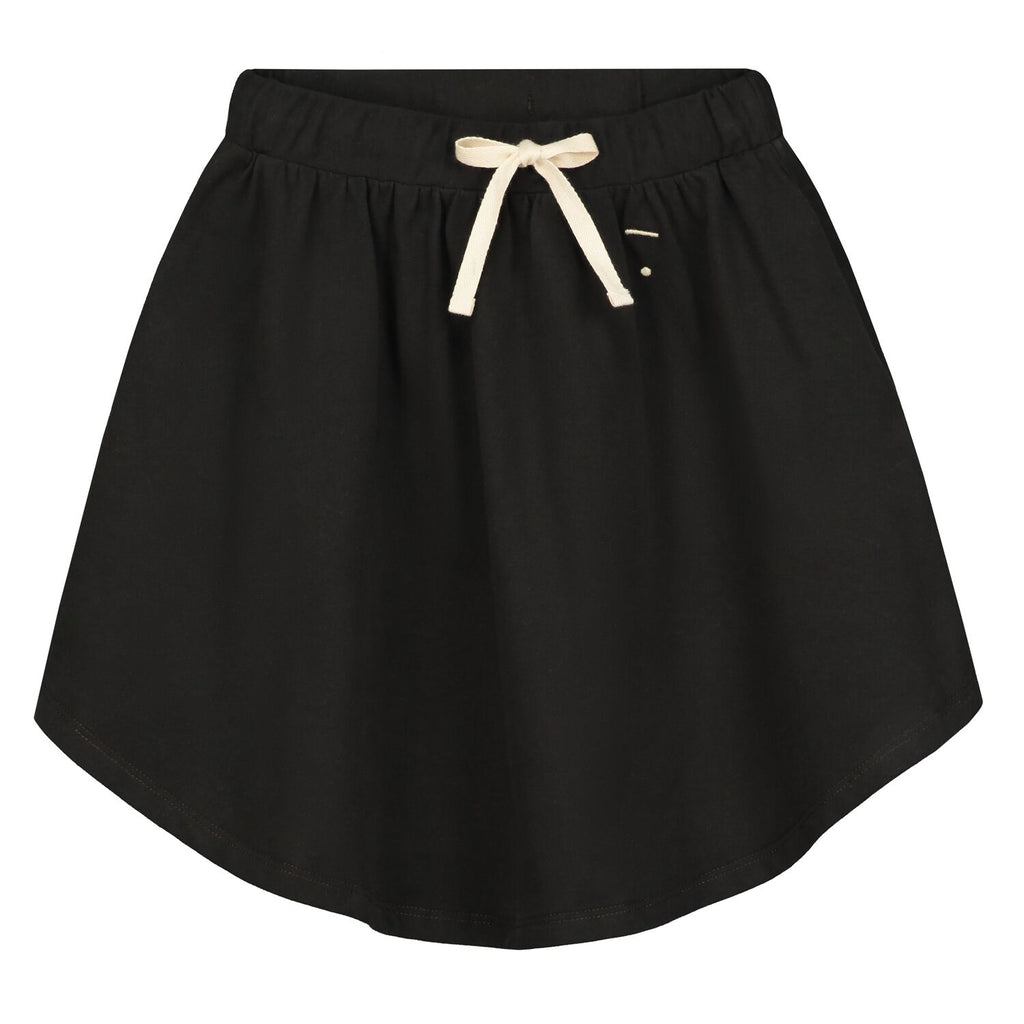 3|4 skirt in nearly black