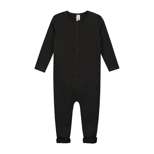 L/S PLAYSUIT IN NEARLY BLACK