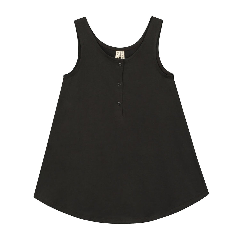 tank dress in nearly black
