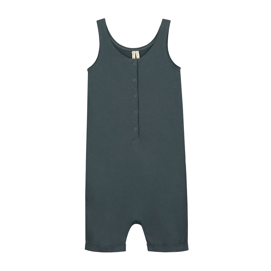 tank suit in blue grey