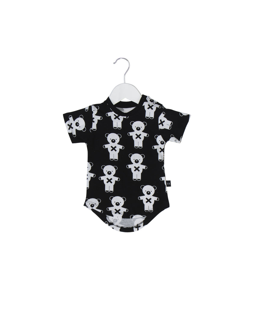 baby soldier bears drop back tee
