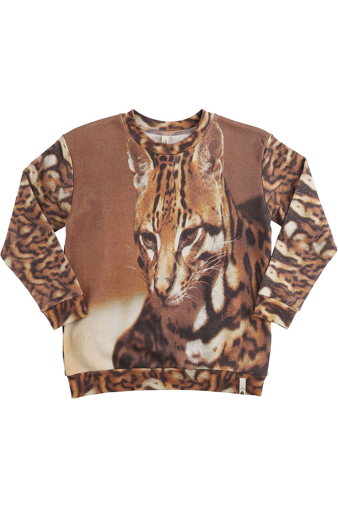 loose cat sweatshirt