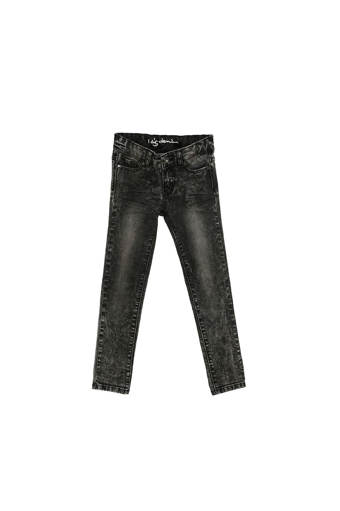 madison jeans in black washed