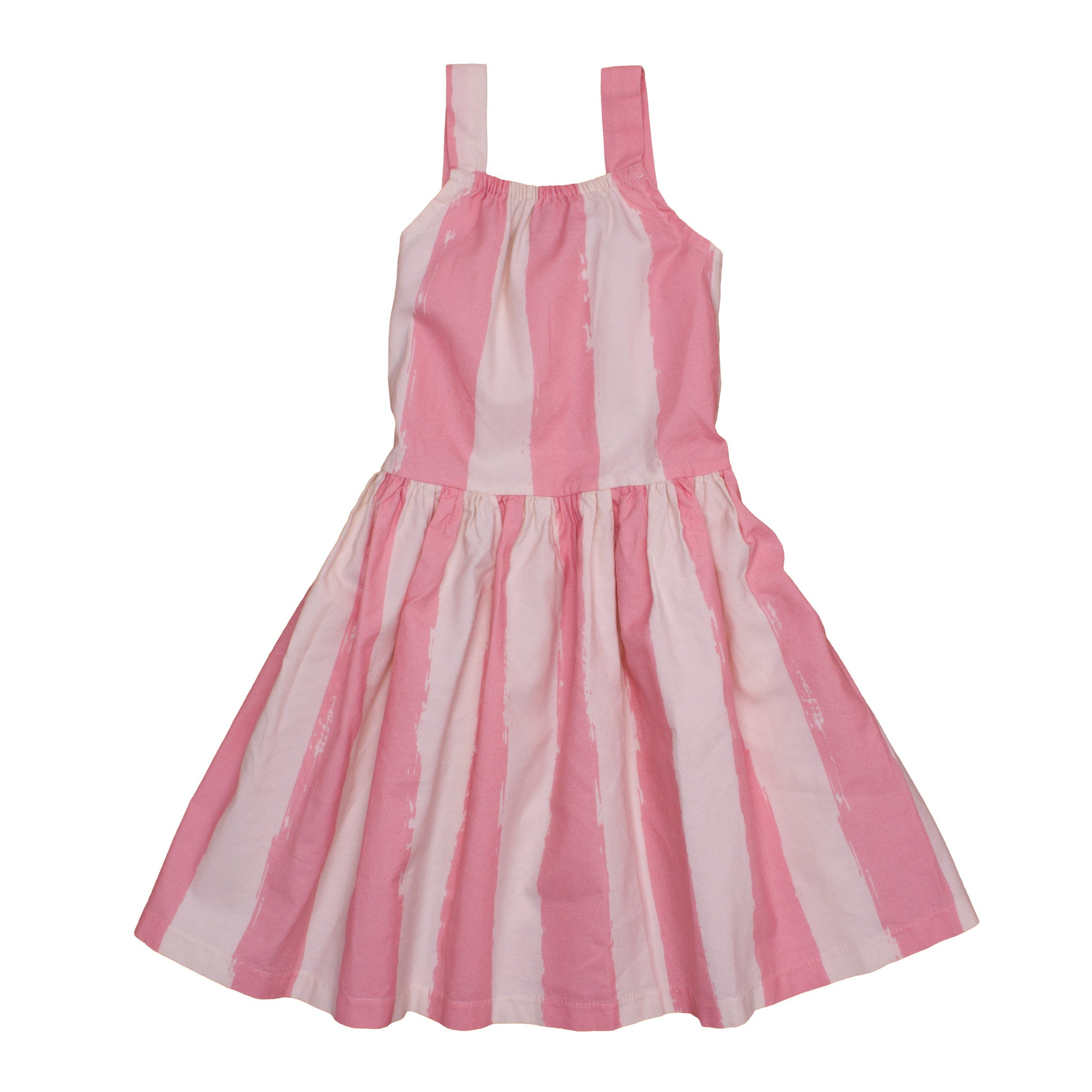 DANCING DRESS IN ROSE STRIPES