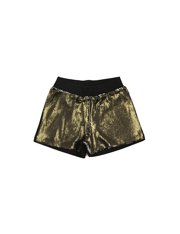 girl sequin shorts