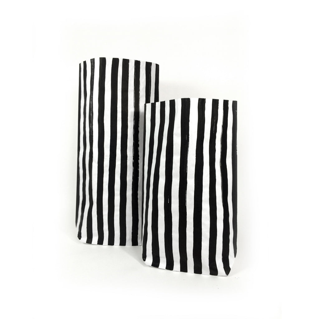 stripes paper bag