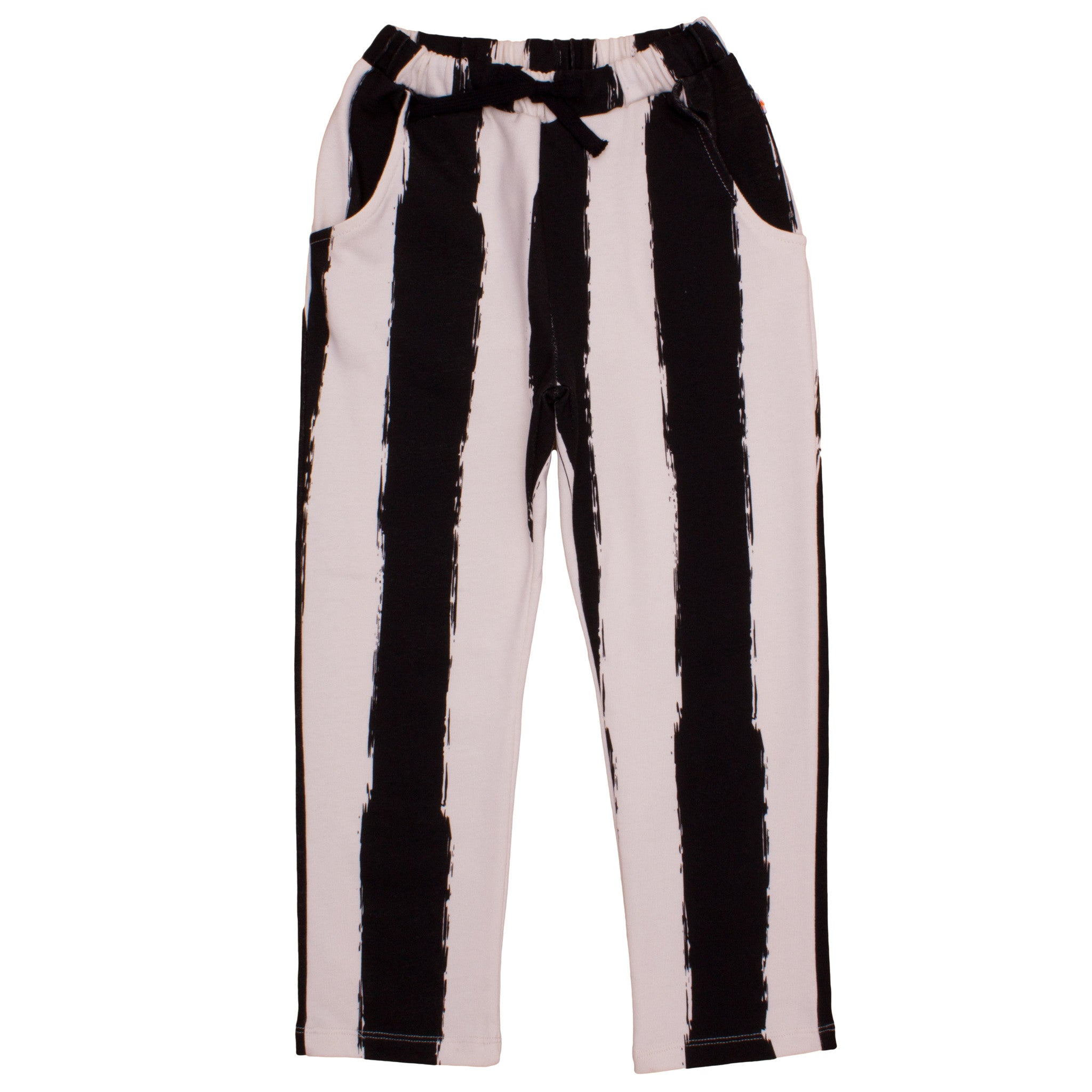 PANTS IN BLACK STRIPE XL