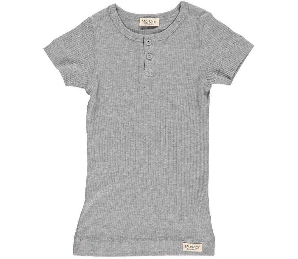 tee ss modal in grey melange