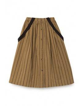 striped rain skirt