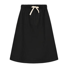 SUMMER LONG SKIRT IN NEARLY BLACK