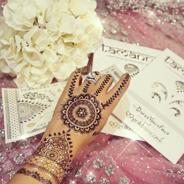 Tamanna Henna Sheet by @DressYour Face