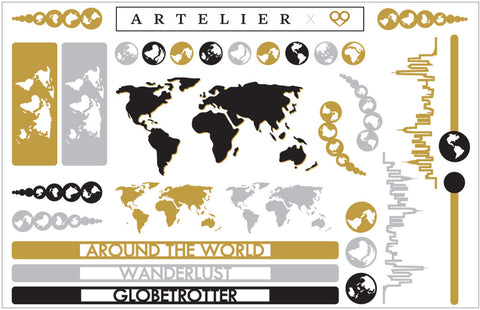 Around the World || Artelier by Cristina Ramella