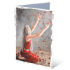 MGC16066 - Grace falls down - Greeting card