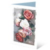 MGC16051 - Roses - Satin Smooth Greeting Card