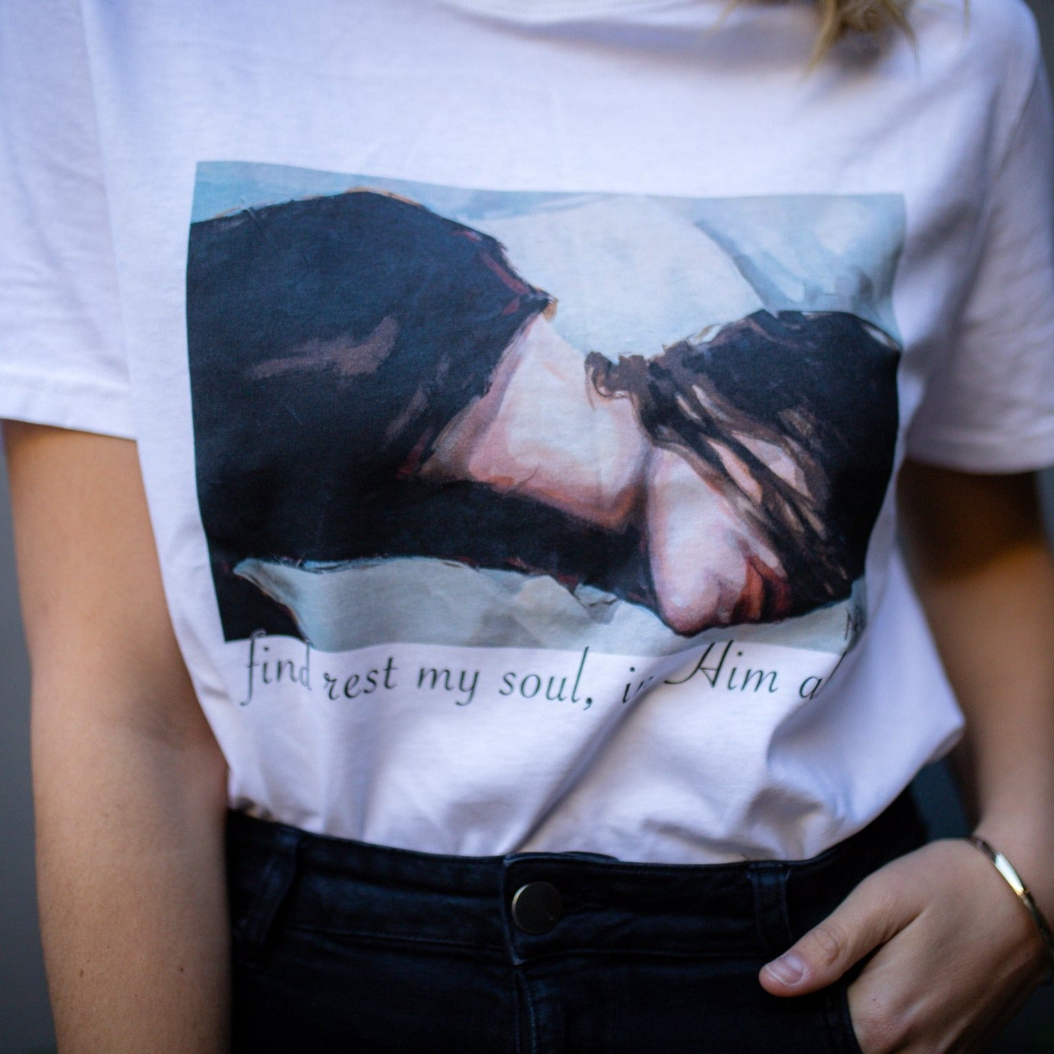 T-shirt 1 - Find Rest
