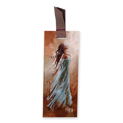 MBM15092 - Let His Gate of Glory Open Wide - Maria Bookmark