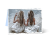 MGC11199 - Sisters - Satin Smooth Greeting Card