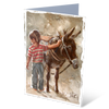MGC13005 - Saddled - Satin Smooth Greeting Card