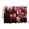 MGC18044 - Crimson in bloom - Satin smooth greeting card