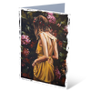 MGC19047 - In the garden - Satin smooth greeting card