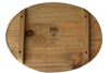 MWBOVM15047 - Joy in the field - Oval Wooden Board