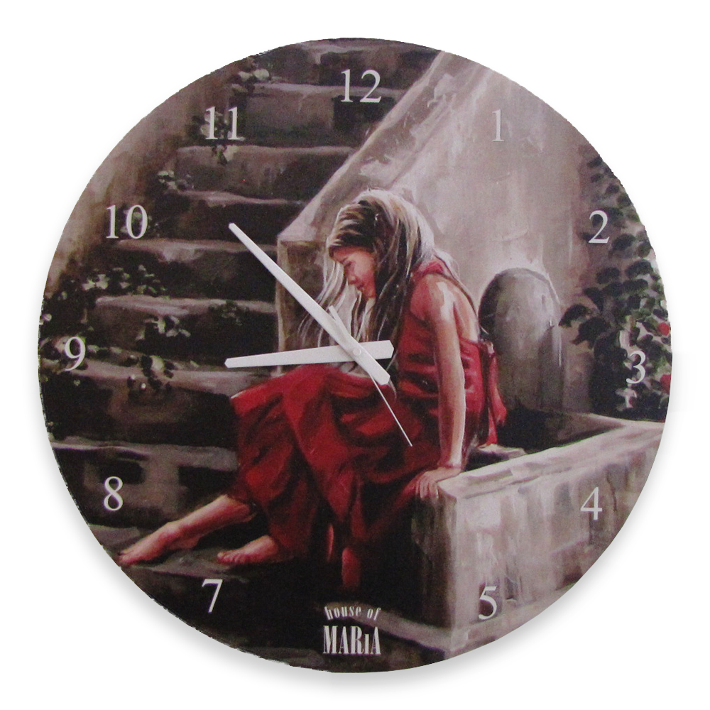 Wall Clock Large - Believe in Him