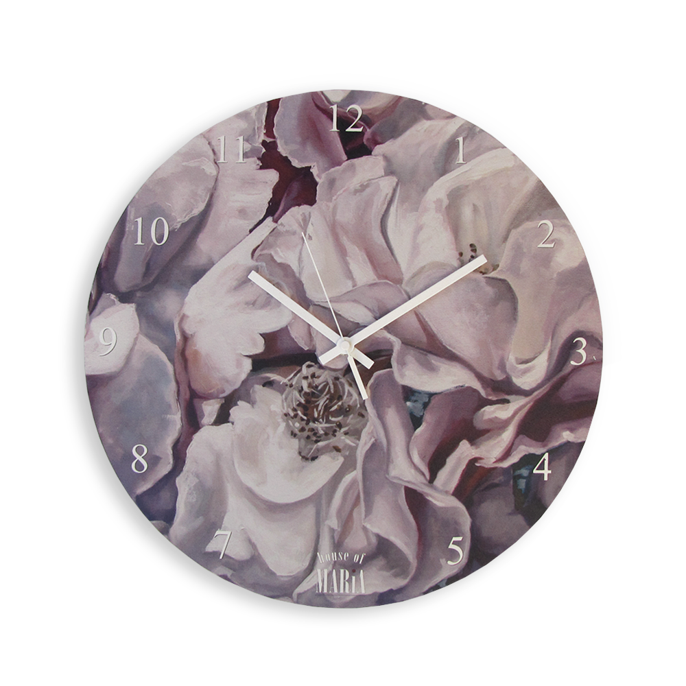 Wall Clock Small - Blooming Grace