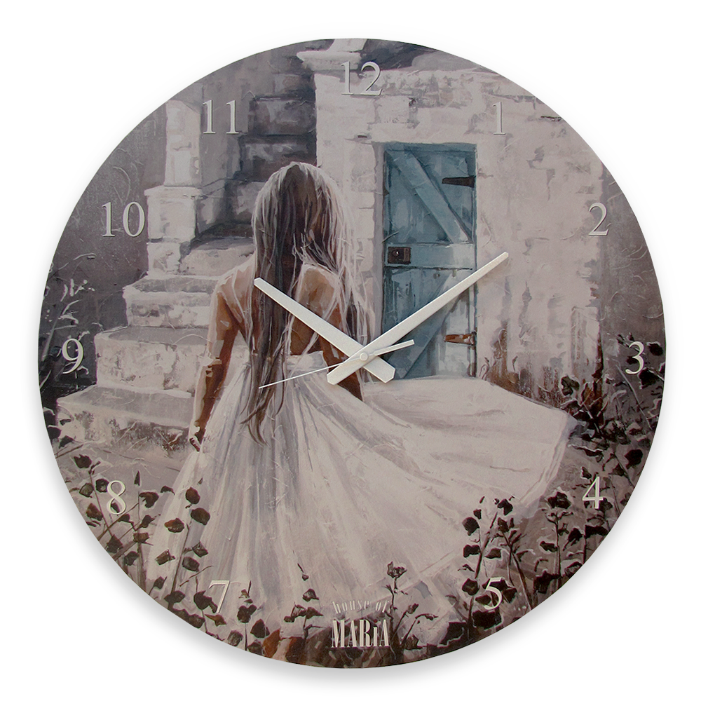 Wall Clock Large - Breathing Dreams