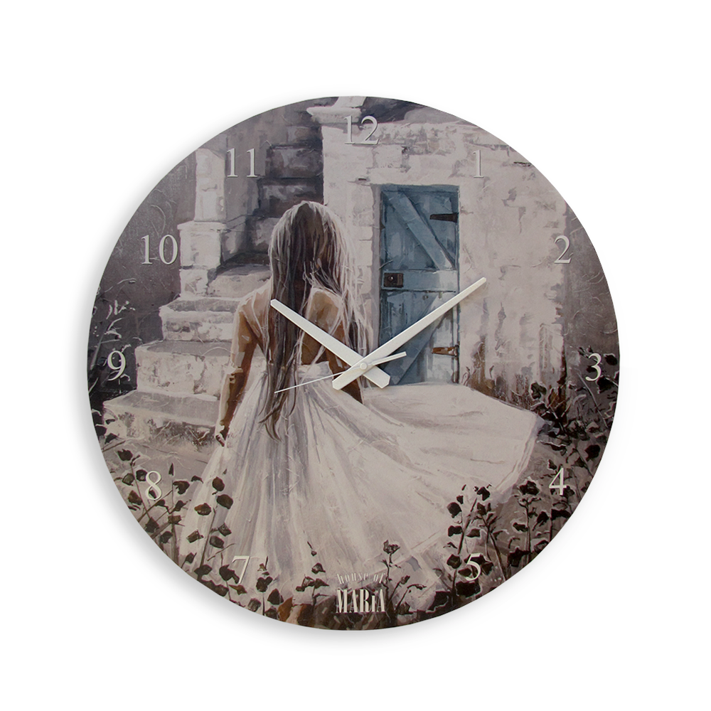 Wall Clock Small - Breathing dreams