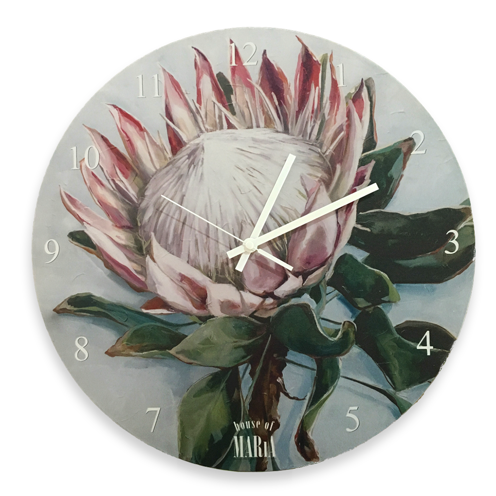 Wall Clock Large - Crown of colour