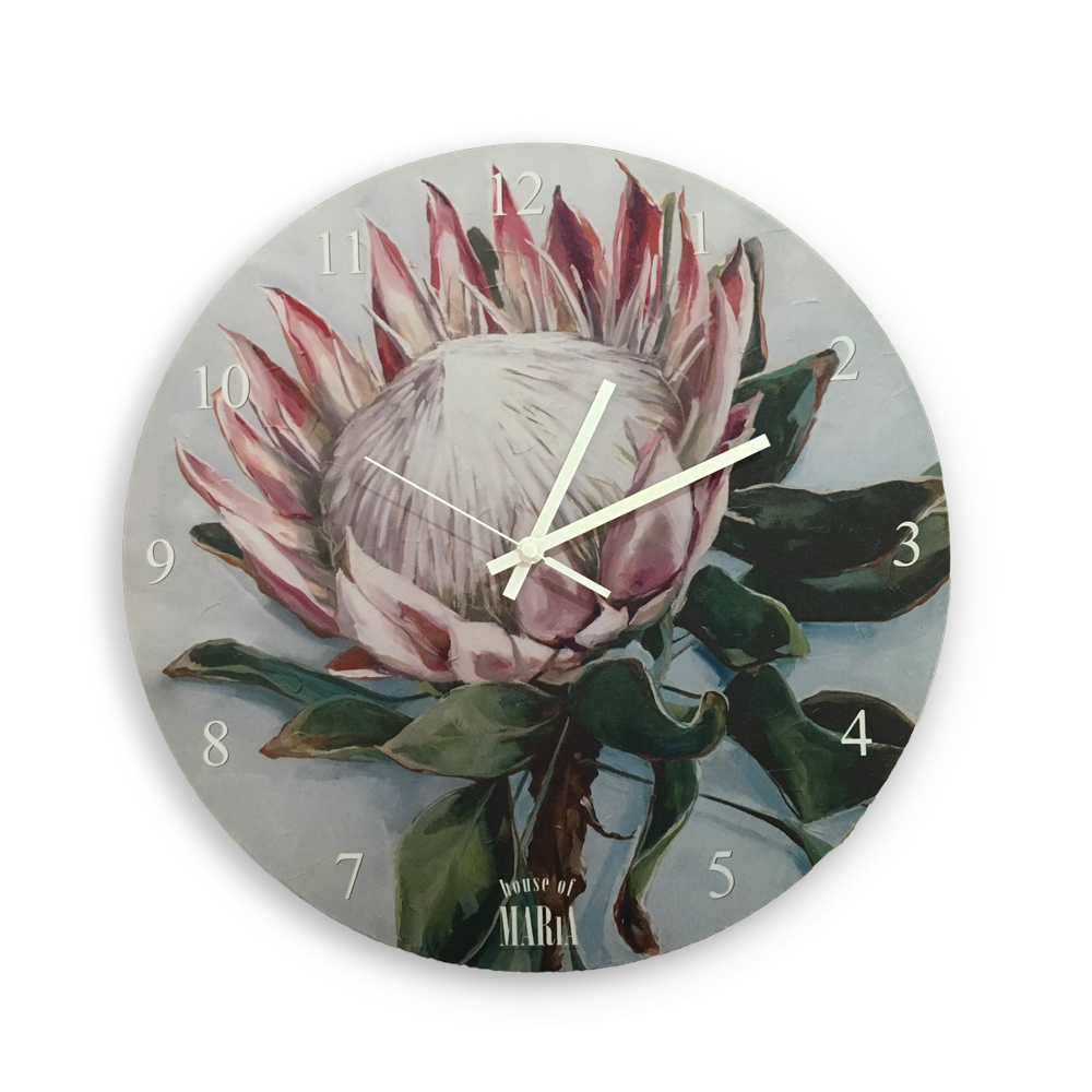 Wall Clock Small - Crown of colour