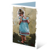 MGC15116 - Little steps - Satin Smooth Greeting Card