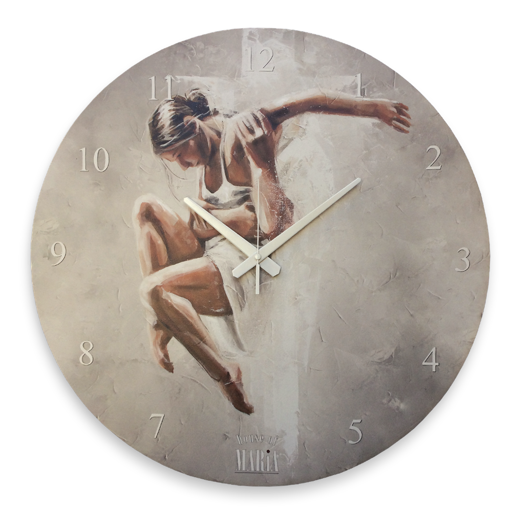 Wall Clock Large - Dance with my King