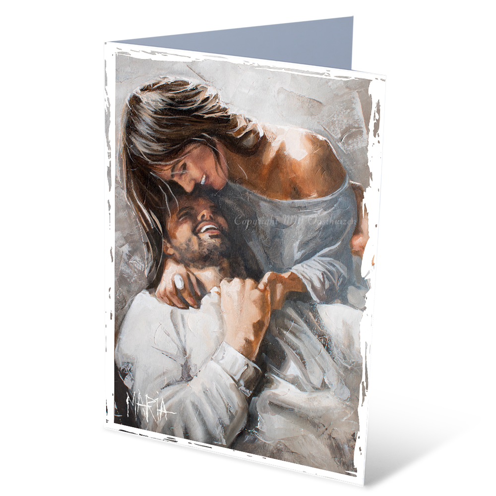 MGC17083 - Rooted in love - Satin smooth greeting card