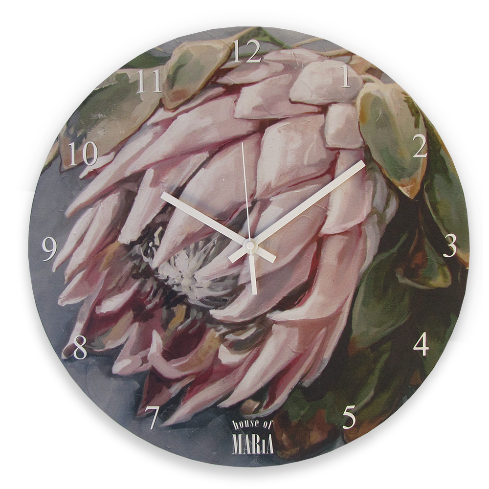Wall Clock Large - Koningsblomme