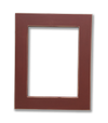 Maria Red Frame - Solid Wood Frame A3