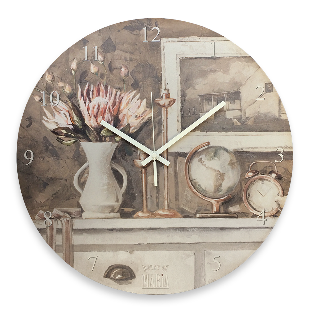 Wall Clock Large - Spirit lead me