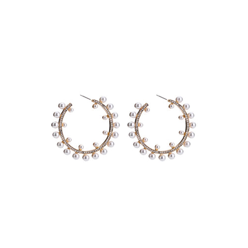MARGO HOOP EARRINGS - SALSULI  JEWELLERY