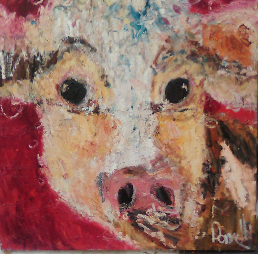 Red Daisy Cow
