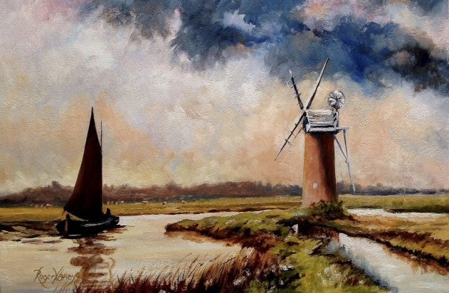 Mill on the River Ant, Norfolk