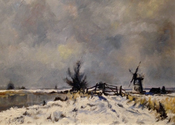 Winter at Thurne Mill