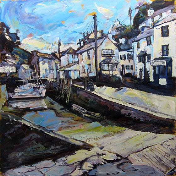 Polperro Harbour Slipway