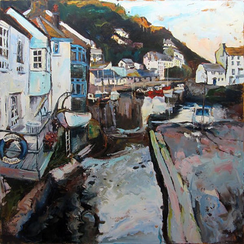 Polperro Harbour from Roman Bridge