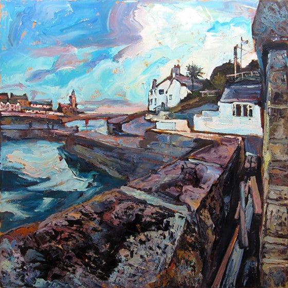 Porthleven Harbour and The Ship Inn