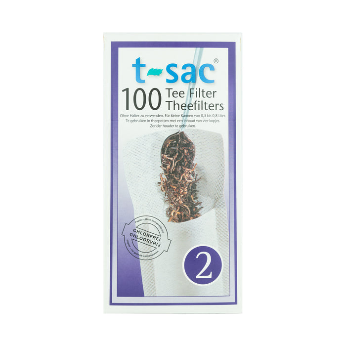 T-Sacs - Filter Tea Bags for Loose Leaf Tea